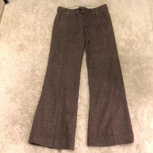 Banana Republic wide leg trouser
